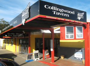 tinkies tavern, where to eat in golden bay, accommodation golden bay